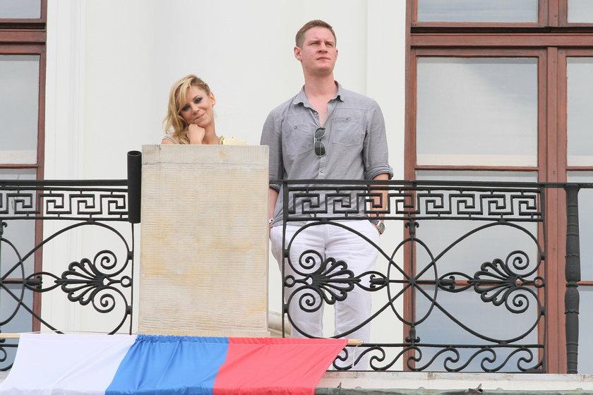 Natalia Lesz i Bartek Głogowski