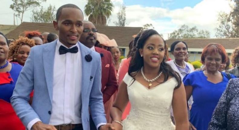 Citizen TV's Sam Gituku weds  Ivy Waitherero