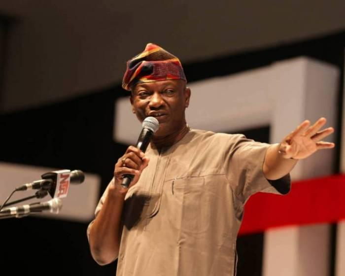 Jimi Agbaje is the candidate of the PDP for the March 2 Lagos governorship election