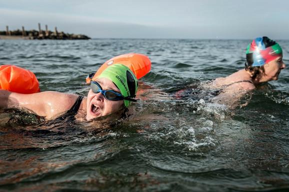 U Danskoj postoje brojni klubovi zimskih plivača