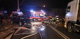 21-letni kierowca zginął w wypadku