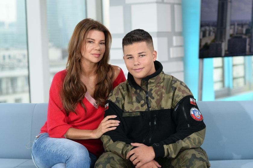Edyta Górniak z synem