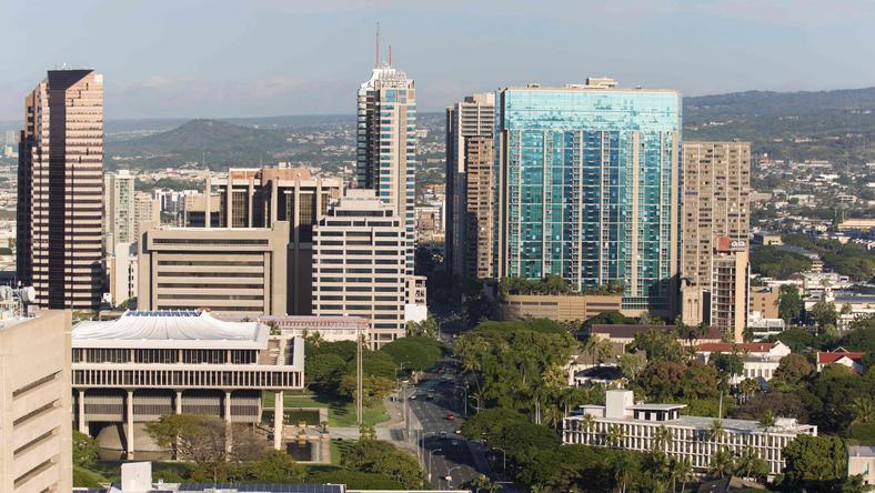 Honolulu - stolica stanu Hawaje