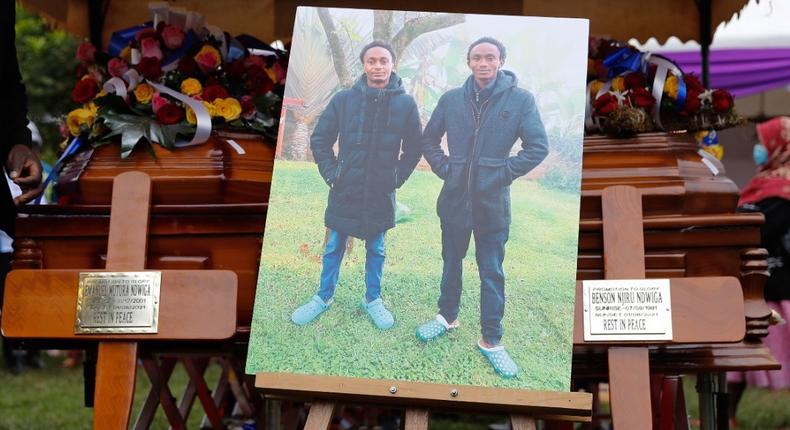 Emmanuel Mutura and Benson Njiru