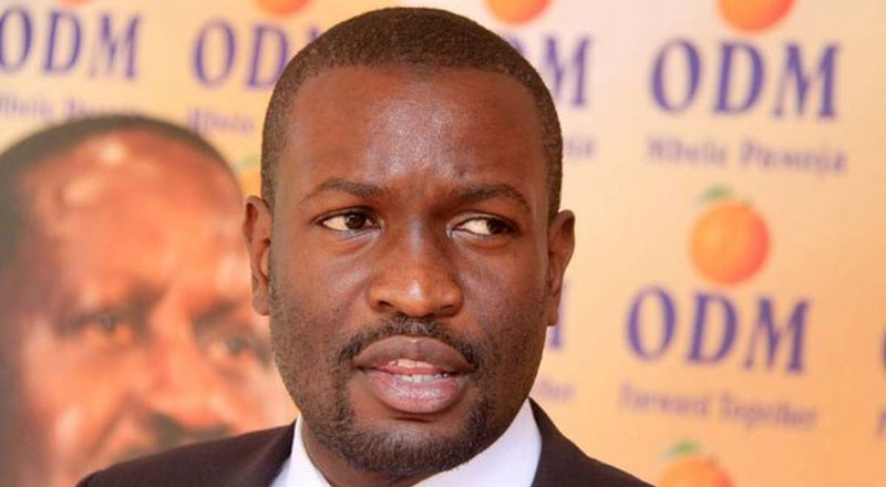 Edwin Sifuna speaks after ODM lost in Msambweni by-election