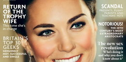 O nie! Kate Middleton w samej bieliźnie
