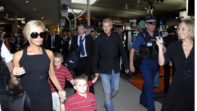 Viktorija i Dejvid Bekam sa decom