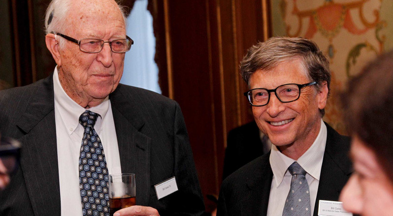 Bill Gates Sr., father of Microsoft cofounder Bill Gates, dies at age 94
