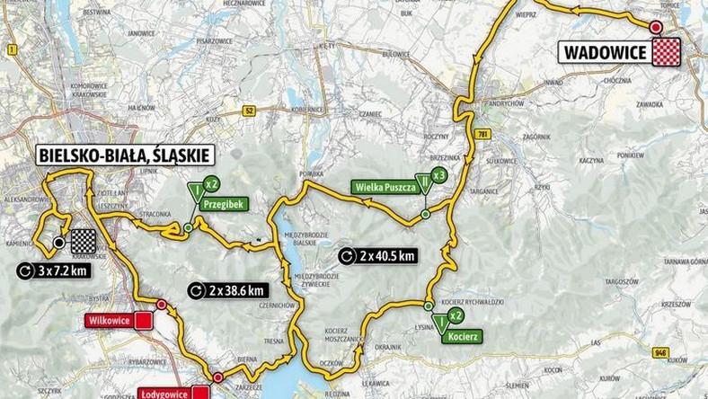 Tour de Pologne - etap 3