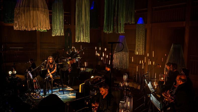 Kasia Kowalska na koncercie MTV Unplugged
