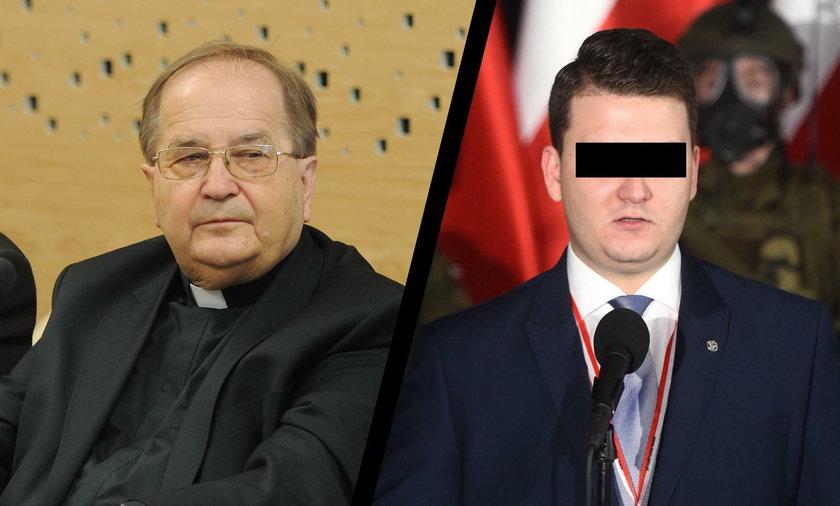 Tadeusz Rydzyk i Bartłomiej M.