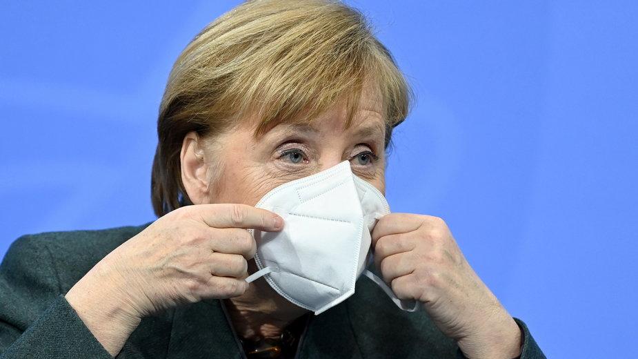Koronawirus: Niemcy. Przywrócenie kontroli granicznych? Kanclerz Angela Merkel nie wyklucza takiej opcji