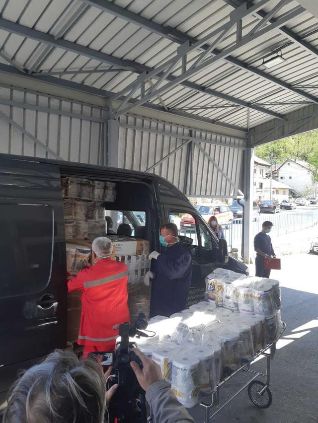 Pomoć koju je donirao Aco Pejović
