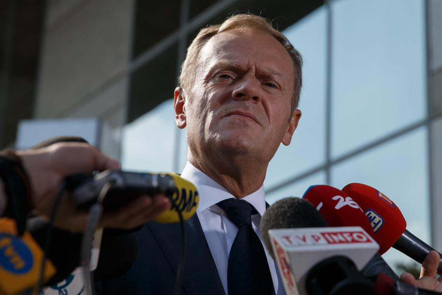 Donald Tusk in Poland