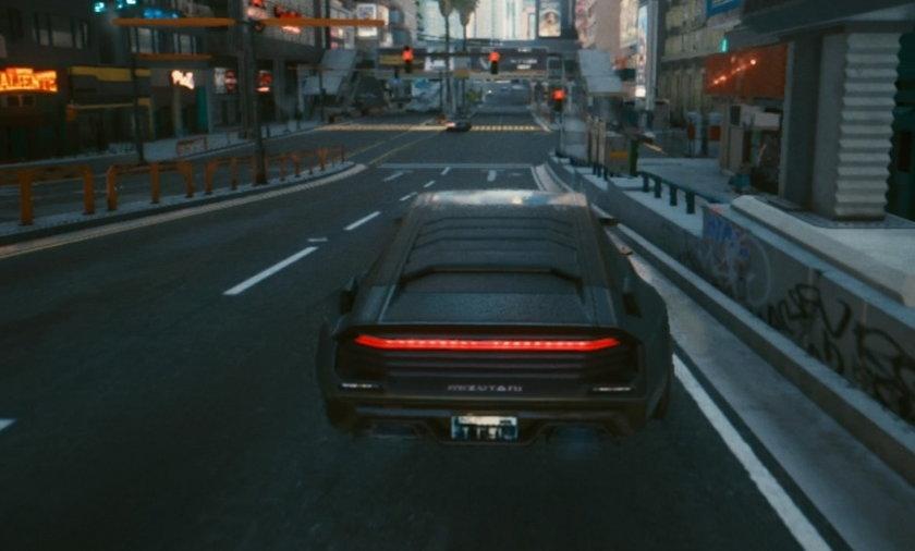 Na zdjęciu: obraz z gry Cyberpunk 2077.