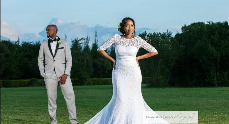 Janet Mbugua and Eddie Ndichu.