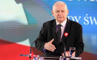 Kaczyński pytany w TVP o rekonstrukcję oraz incydenty na Marszu Niepodległości