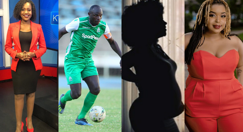 Sharon Momanyi, Dennis Oliech, Anne Kansiime and Mwende Macharia