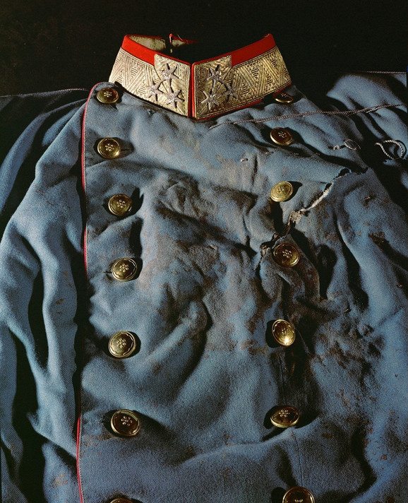 Odelo koje je nosio Franc Ferdinand kada je ubijen