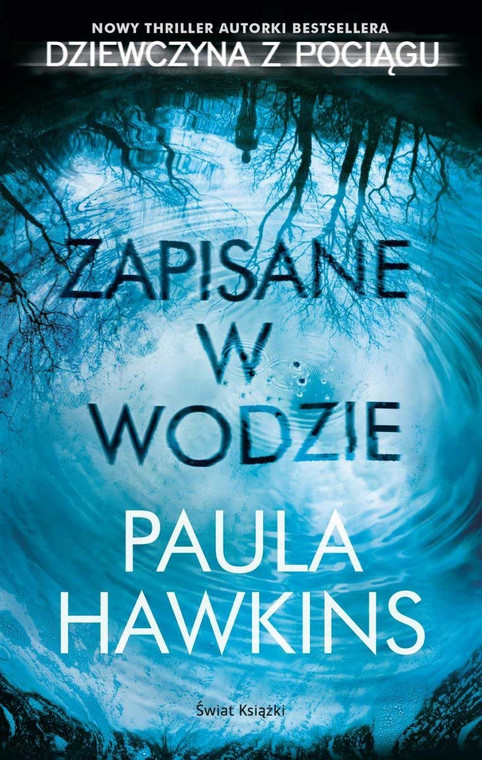 """""""Saved in the water"""", book cover"""