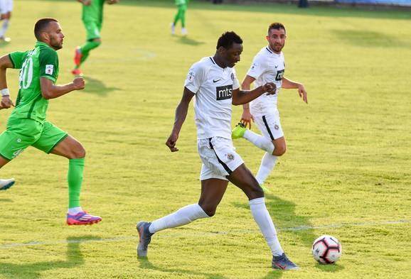 Sadik na utakmici Inđija - Partizan