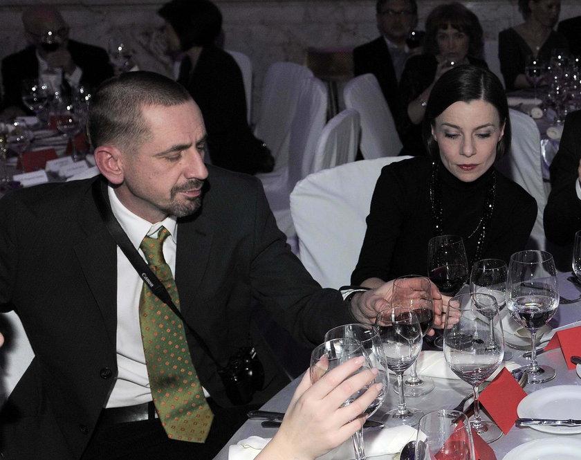 Agata Kulesza i Marcin Figurski