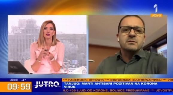 Predrag Mijatović se uključio u jutarnji program TV Prva