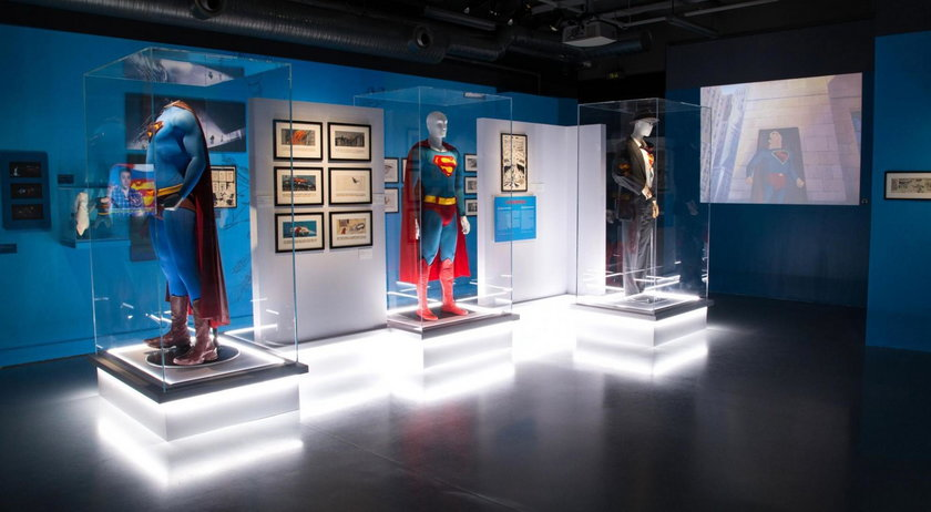 Wystawa Świt superbohaterów w Łodzi