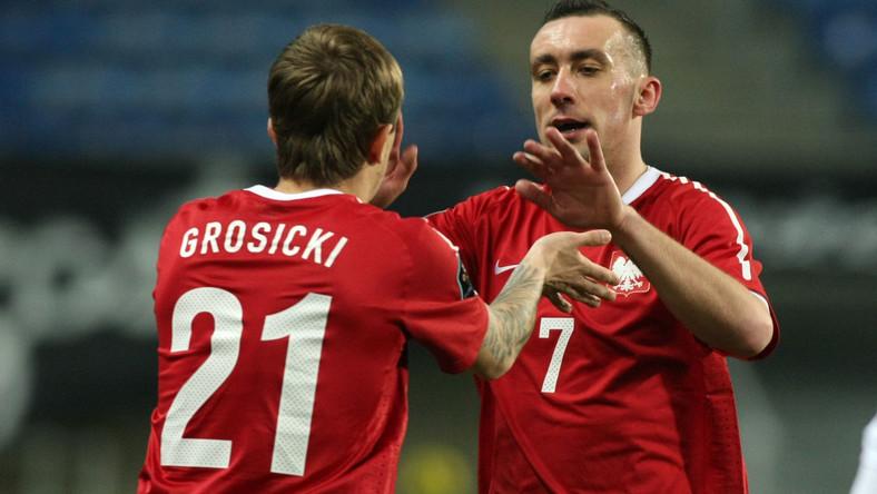 Kamil Grosicki i Ireneusz Jeleń