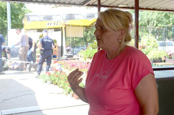 Supruga preminulog prodavca Ljiljana Beljić žestoko optužuje komunalnog policajca