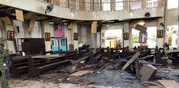 Zamach na katolicki kościół. Jest wiele ofiar