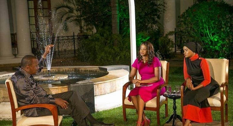 Kanze and Lulu on #NipasheNaUhuru