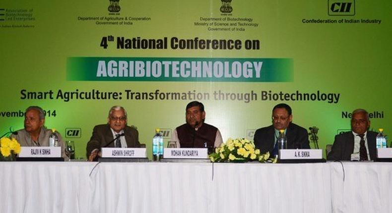 Agri-biotechnology can increase crop yield