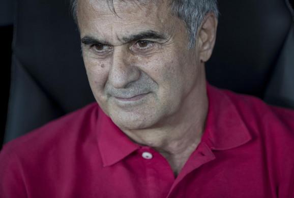 Trener domaćina Senol Guneš
