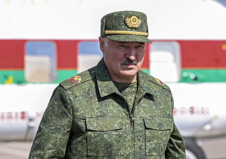 Aleksandar Lukašenko u Grodnom