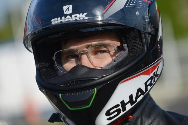 Kask Shark Skwal - przyjazny dla okularników