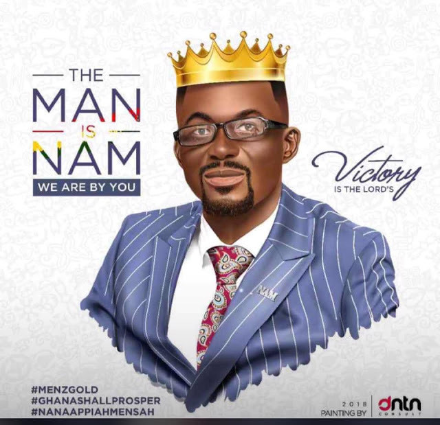 Nana Appiah Mensah, aka NAM 1