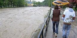 Alarm i ulewy na południu Polski