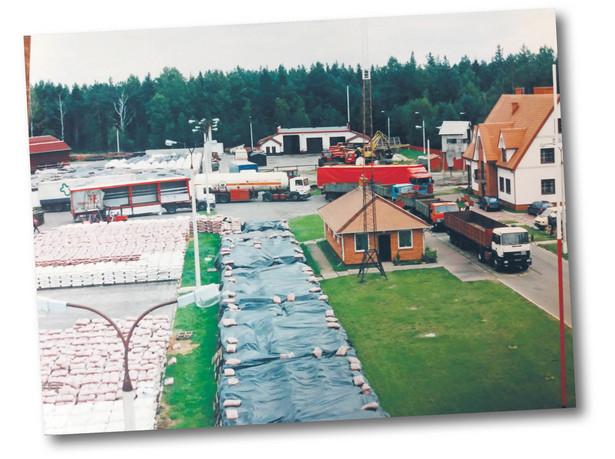 Magazyny przy stacji przeładunkowej Planta fot. Materiały prasowe