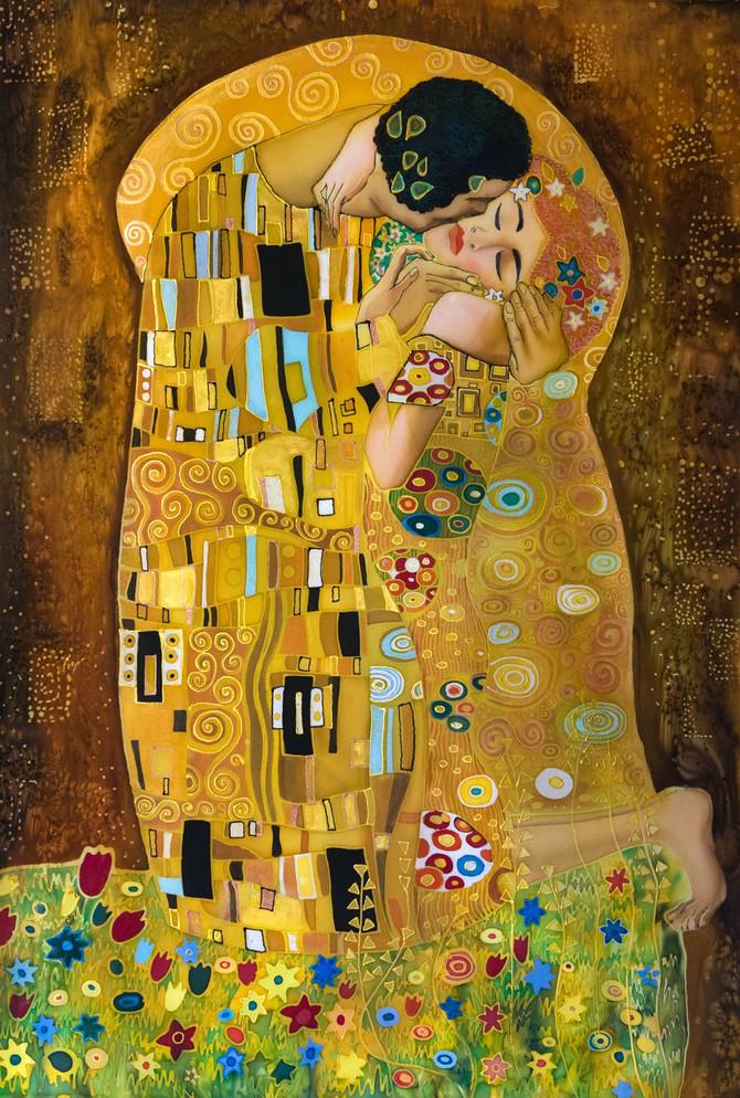 Poljubac, Gustav Klimt
