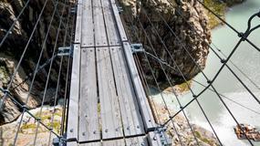 Wybierz się na wirtualny spacer po najdłuższym wiszącym moście Europy