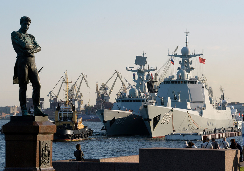 RUSSIA-CHINA-NAVY