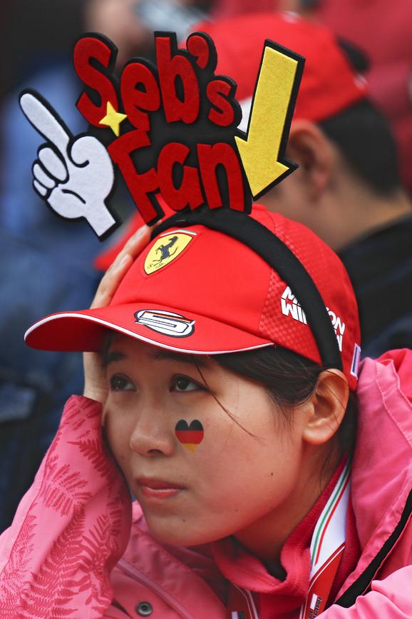 Protekle godine Kineskinja nesrećna jer je Fetel bio