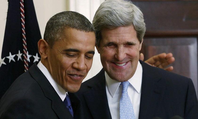 Obama wybrał nowego sekretarza stanu