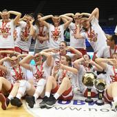 ŠAMPIONKE Ove košarkašice Zvezde su obeležile finalnu seriju