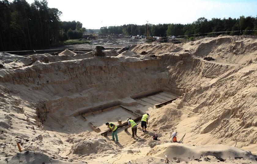 Odkopali wojnę na budowie.