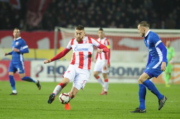 Milan Pavkov na prethodnom meču Crvena zvezda - Vojvodina