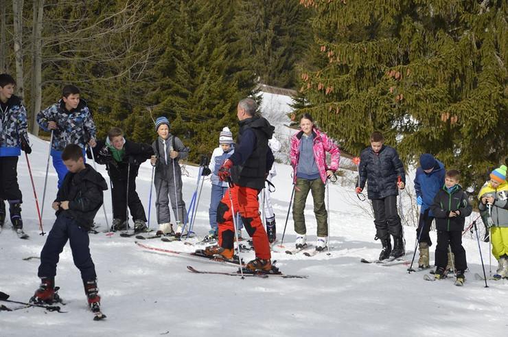 Golija sneg skijanje