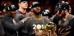 LeBron James we łzach. Cavaliers mistrzami NBA