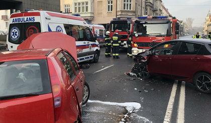Groźny wypadek w Sopocie. Sześć osób poszkodowanych